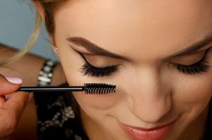Mascara für wimpernextensions